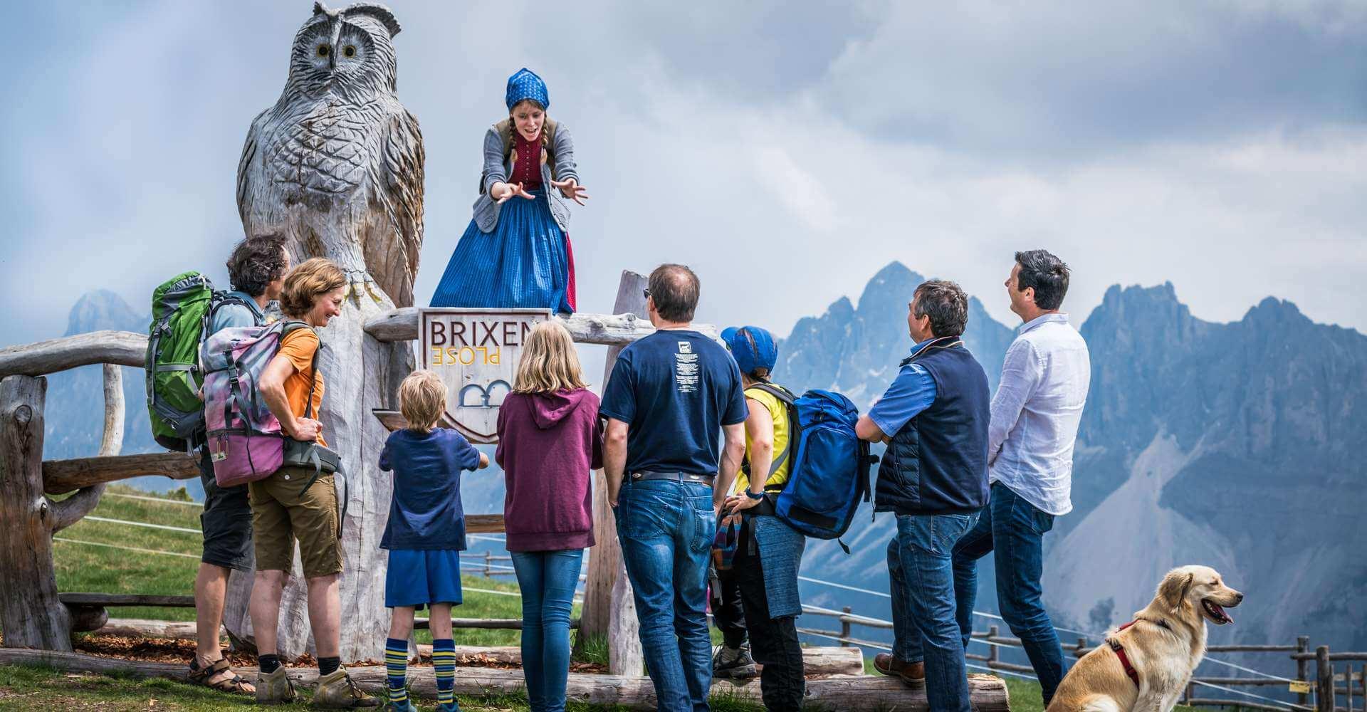 Sommerurlaub Wandern Brixen Plose