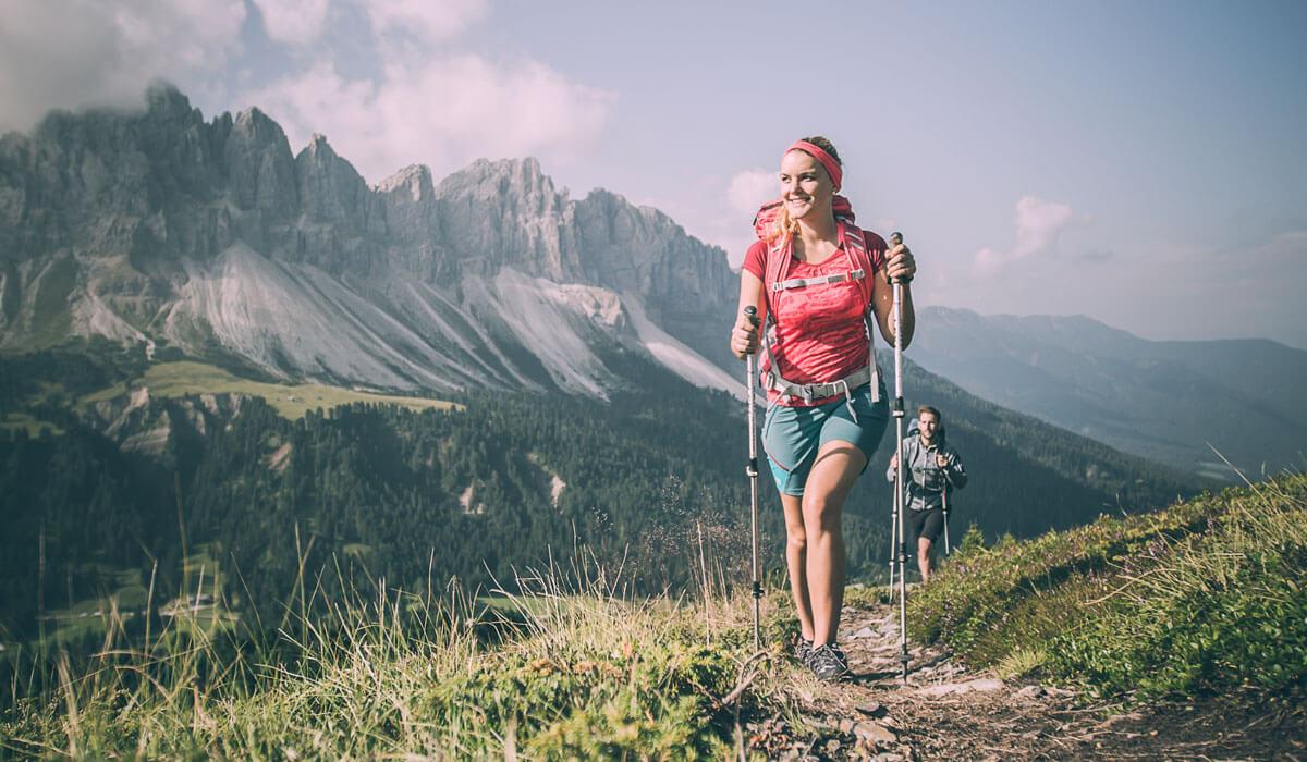 Wanderferien Südtirol - Wandern auf der Plose