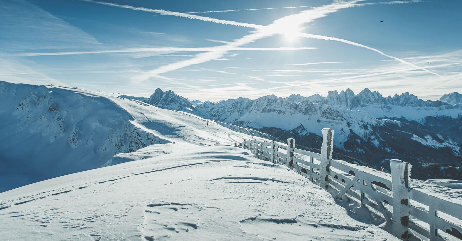 Winterurlaub Brixen Plose Südtirol